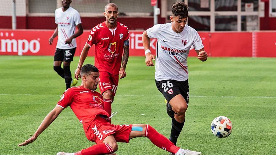 Sevilla Atlético y 'Támara'  se conforman con un punto