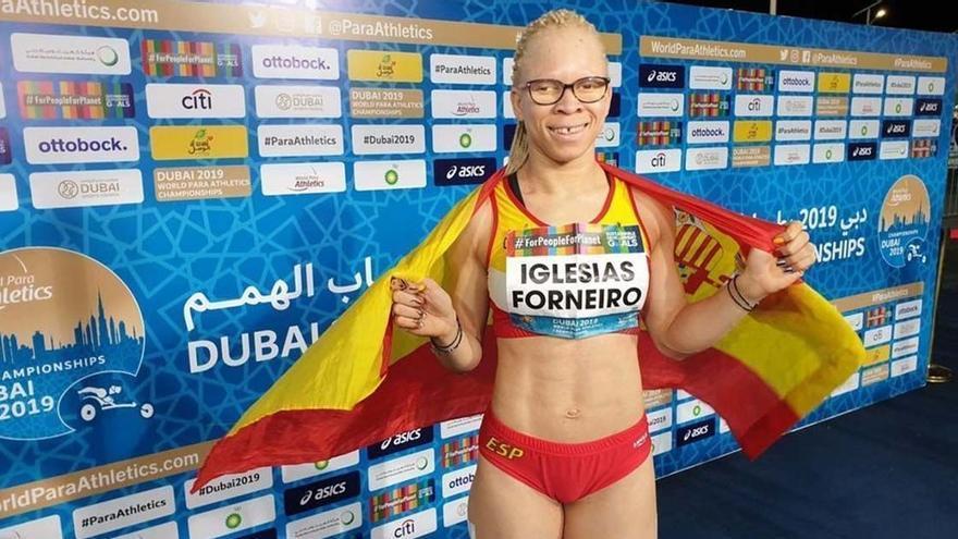 Adiaratou Iglesias se proclama campeona paralímpica de los 100 metros lisos