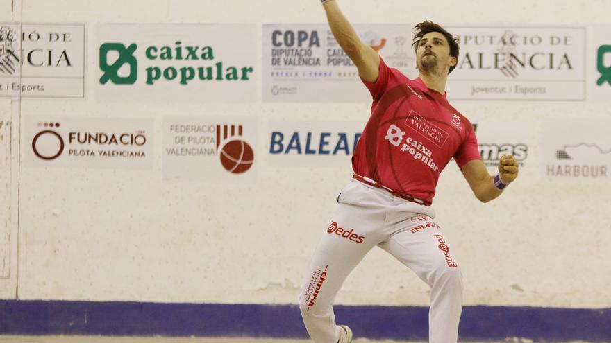 Copa Diputació de València - Caixa popular d'escala i corda: Puchol II exerceix de número u i Carlos també