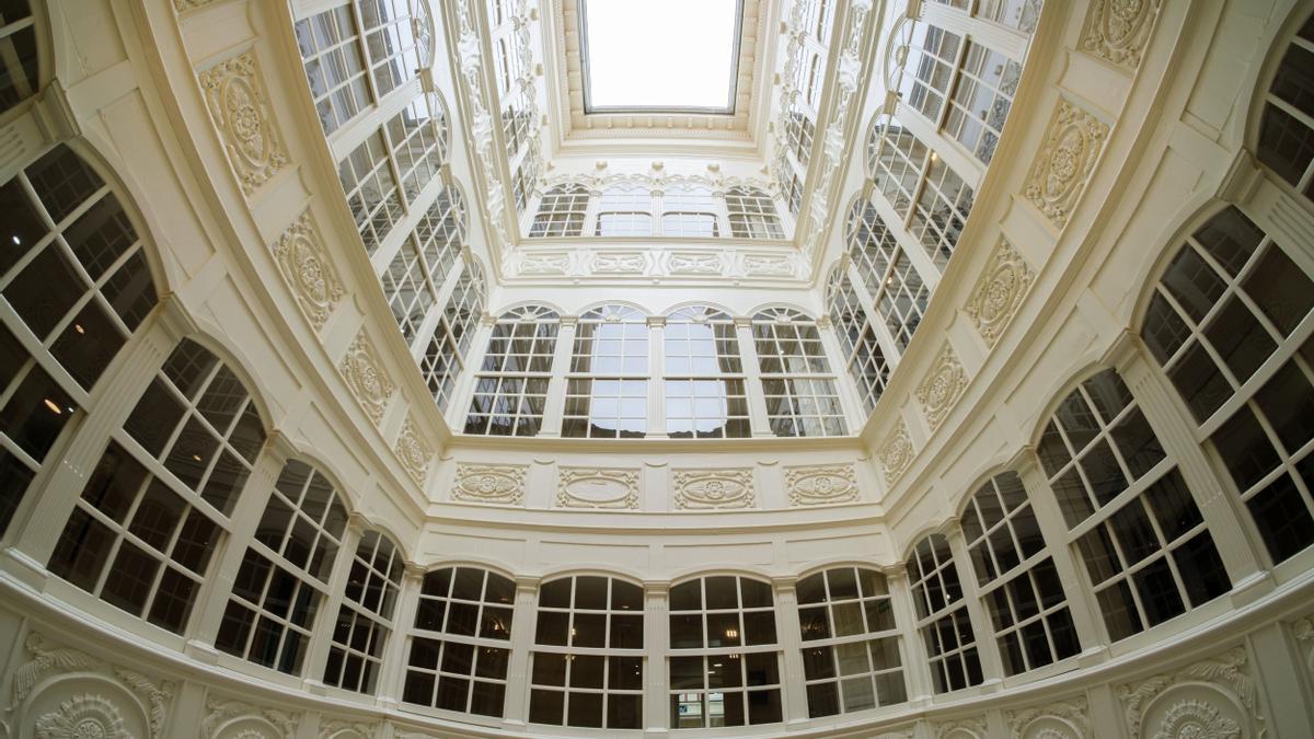 Galería interior del palacio de Maqua.