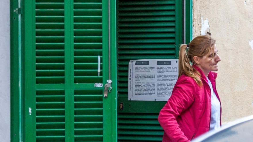 Einsturzgefahr! Wohnhaus in Palma de Mallorca evakuiert