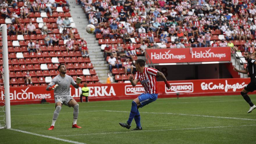 EN DIRECTO: Gaspar adelanta al Sporting contra el Málaga