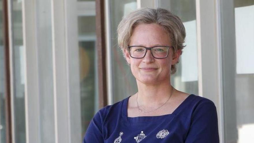 Annina Bürgin, gerente del Centro de Innovación de Estudios Jurídicos Marítimos y Pesqueros. | // R. GROBAS