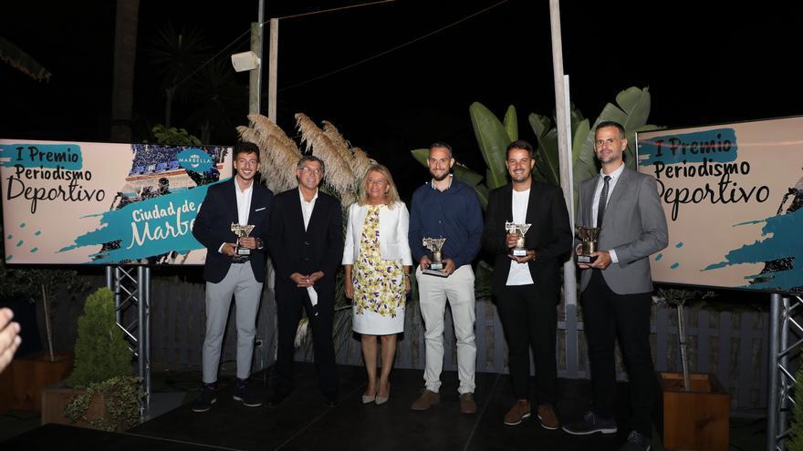 Entregados los premios Ciudad de Marbella de periodismo deportivo