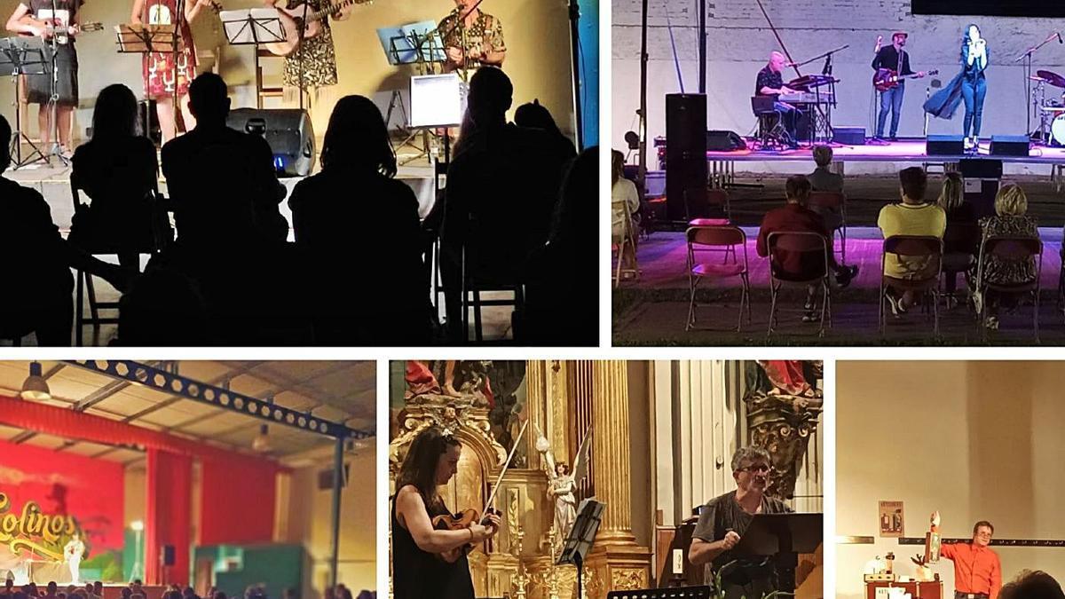 El festival Sal a Remolinos acercó conciertos y recitales en varios escenarios del municipio. | SERVICIO ESPECIAL