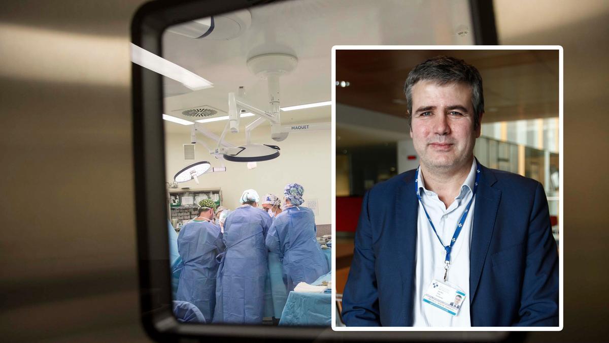 En el recuadro, Jacobo Silva. | LUISMA MURIAS