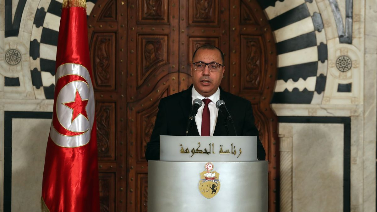 Hichem Mechichi deja el cargo de primer ministro tunecino.