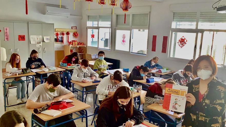 El aprendizaje del chino se afianzará en el próximo curso