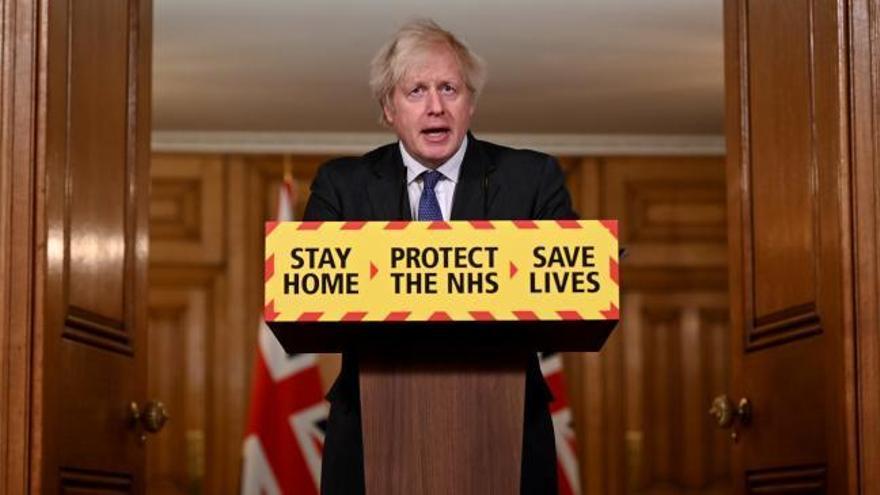 La cepa británica es entre un 30 y un 40 por ciento más letal, según el Gobierno de Boris Johnson