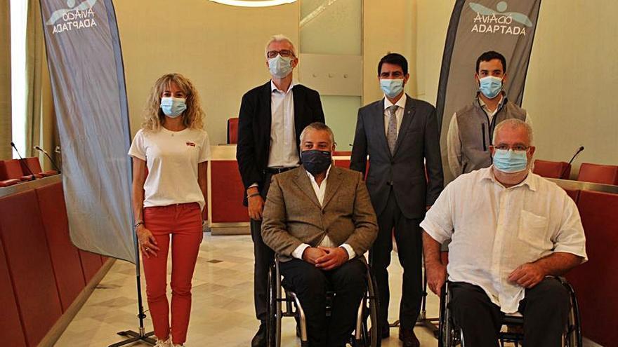 L'aeròdrom d'Igualada-Òdena acollirà un dia de vol per a persones amb discapacitat