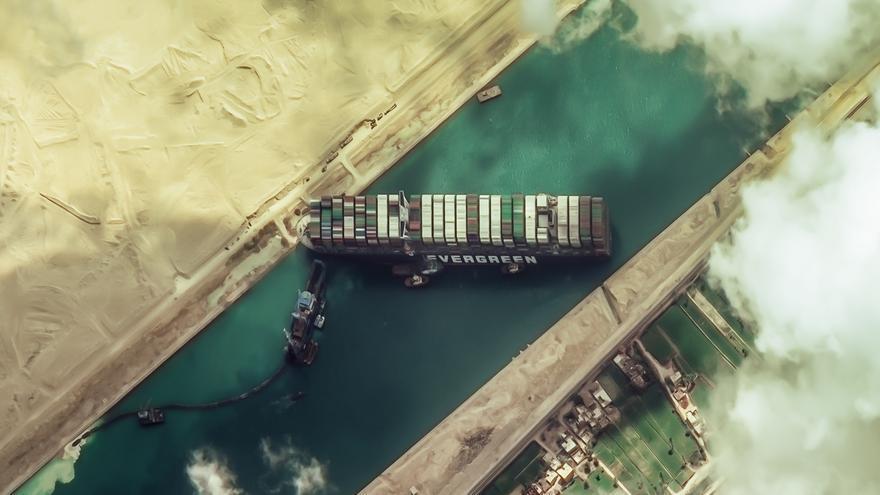 Principio de acuerdo para el pago de compensaciones por el bloqueo del Ever Given en el Canal de Suez