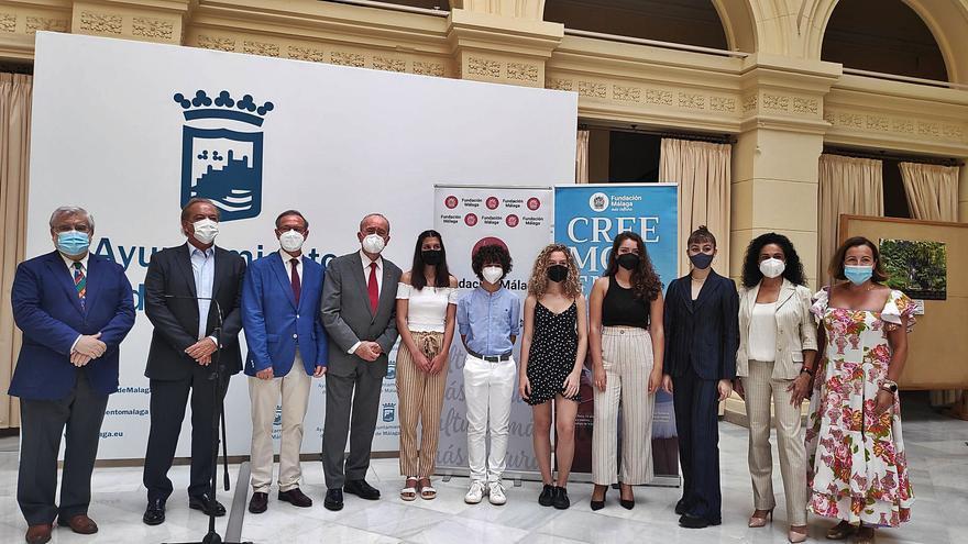 Fundación Málaga y el Ayuntamiento se alían por el talento de nuestra tierra