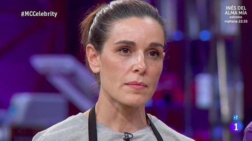 Raquel Sánchez Silva y su emotiva despedida en 'Masterchef Celebrity'