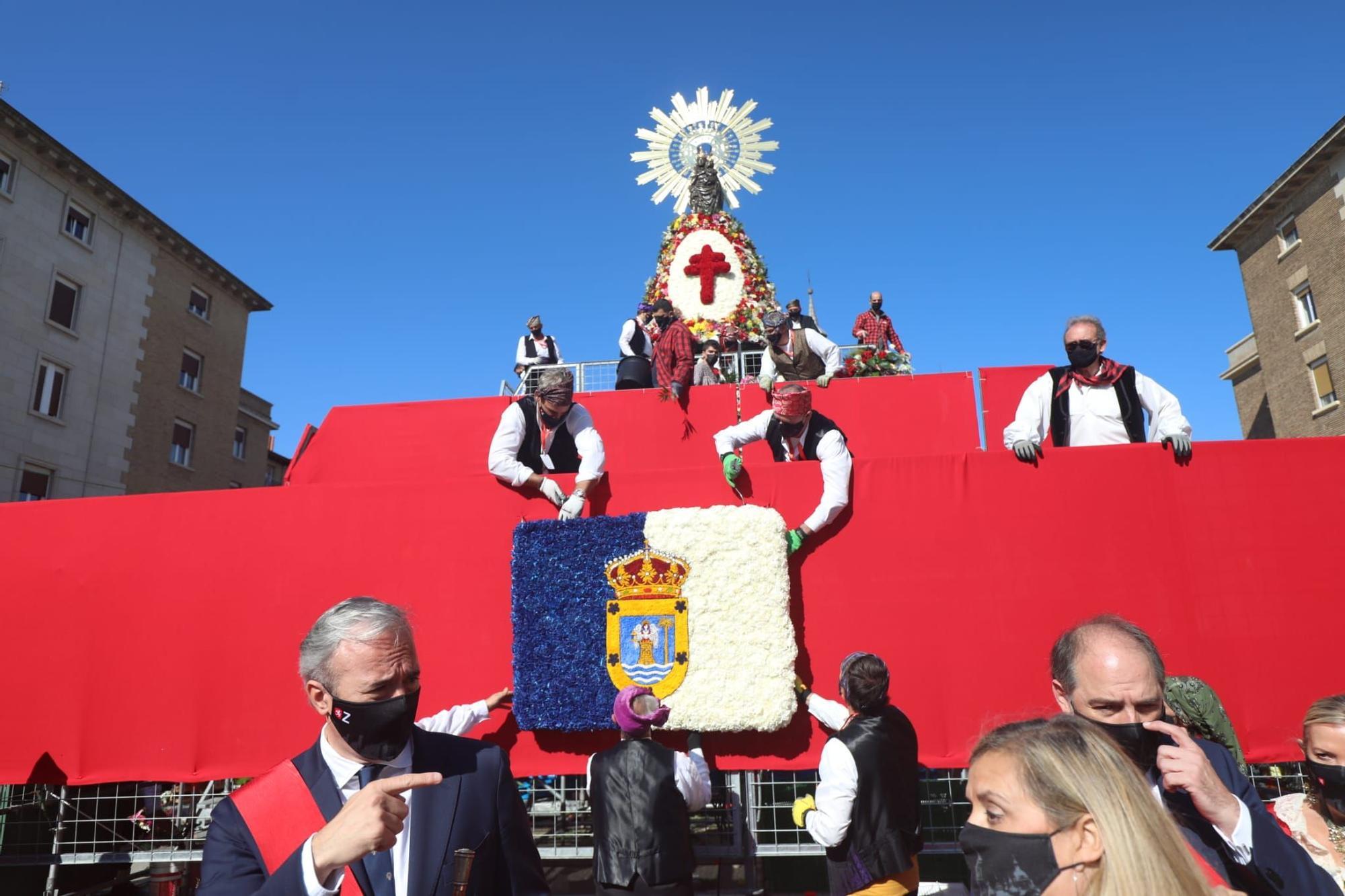 FOTOGALERÍA   La Ofrenda de Flores de estas Fiestas del Pilar 2021 II