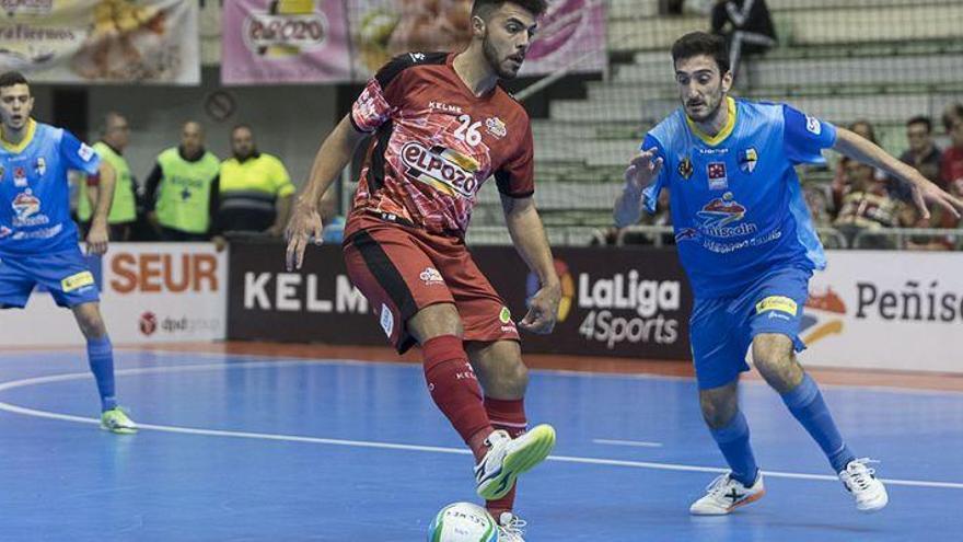 El Peñíscola FS cosecha su primera derrota a domicilio (5-1)