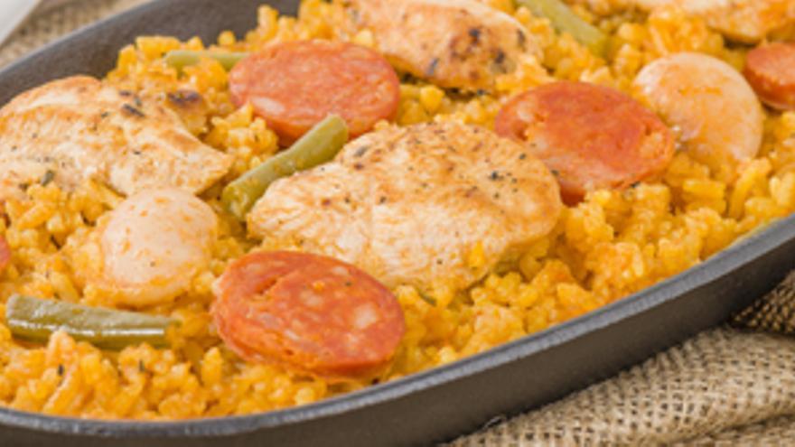 Receta de arroz al horno