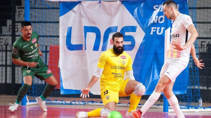 El Córdoba Futsal tendrá que esperar para sentenciar la permanencia