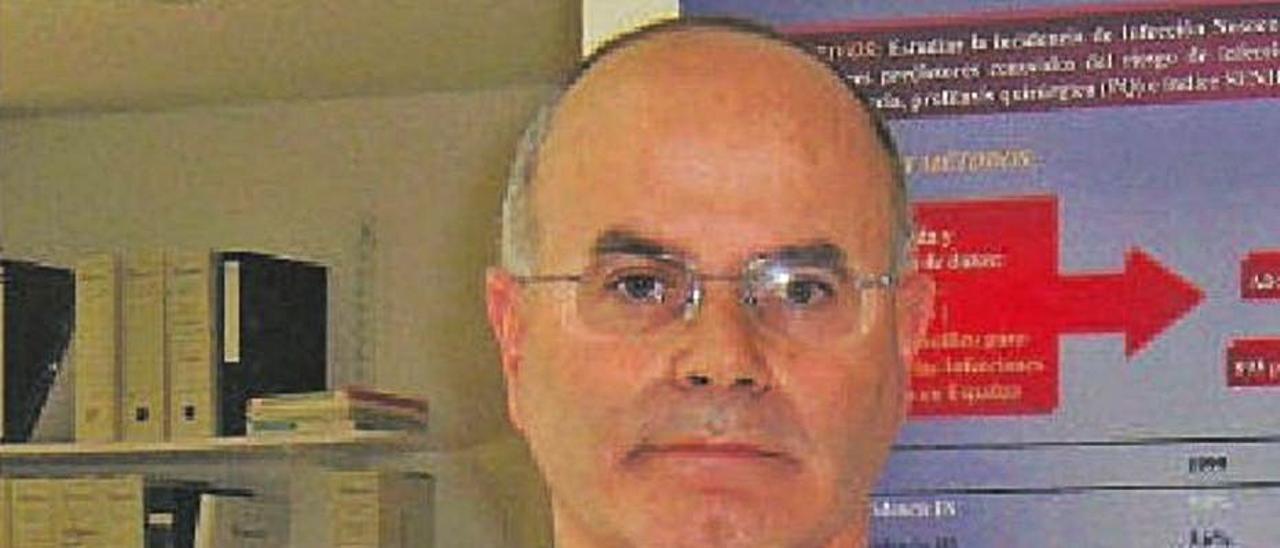 El presidente de la Sociedad de Medicina Preventiva. | LEVANTE-EMV
