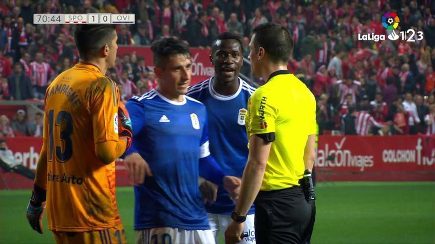 LaLiga123: El penalti que falló el Sporting