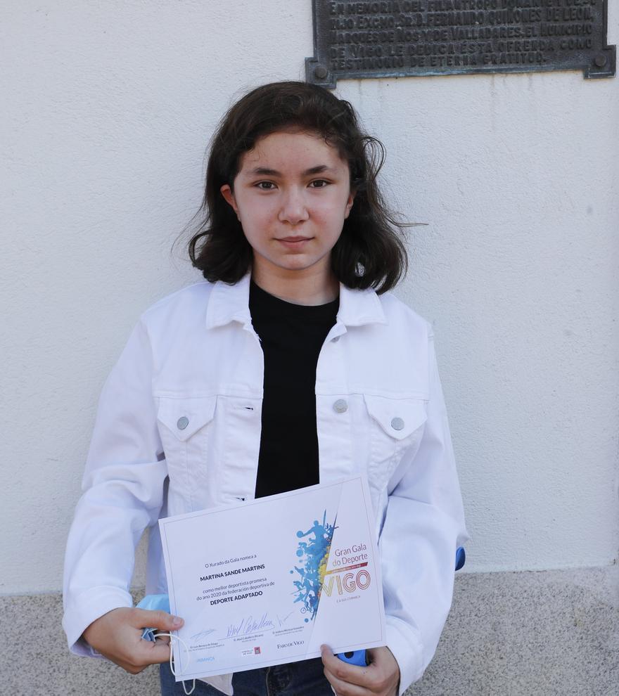 Martina Sande Martims-Deporte adaptado