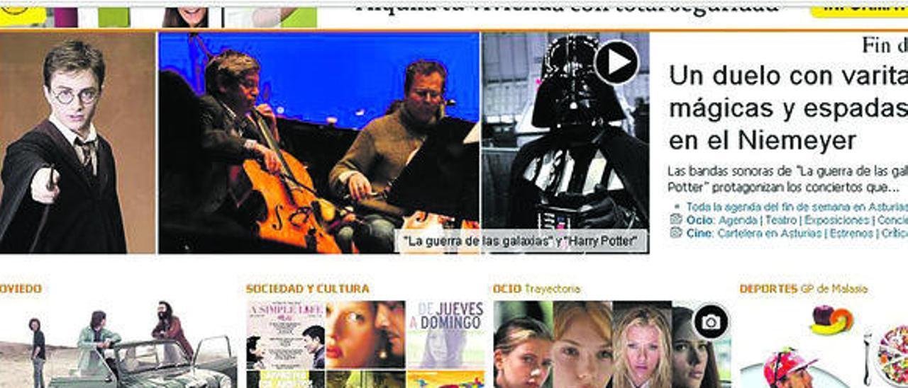 Imagen de la edición digital de LA NUEVA ESPAÑA.