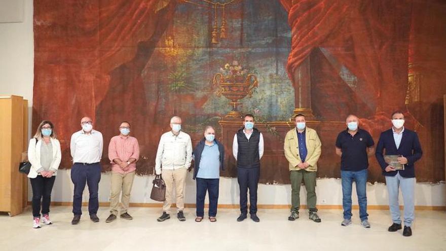 La rehabilitación del Teatro Principal de Tui contempla un mirador hacia el Miño