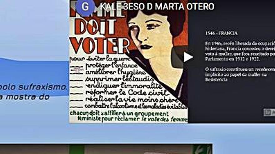 """Exposición virtual del proyecto """"Unha aldea global"""" del Aller Ulloa"""