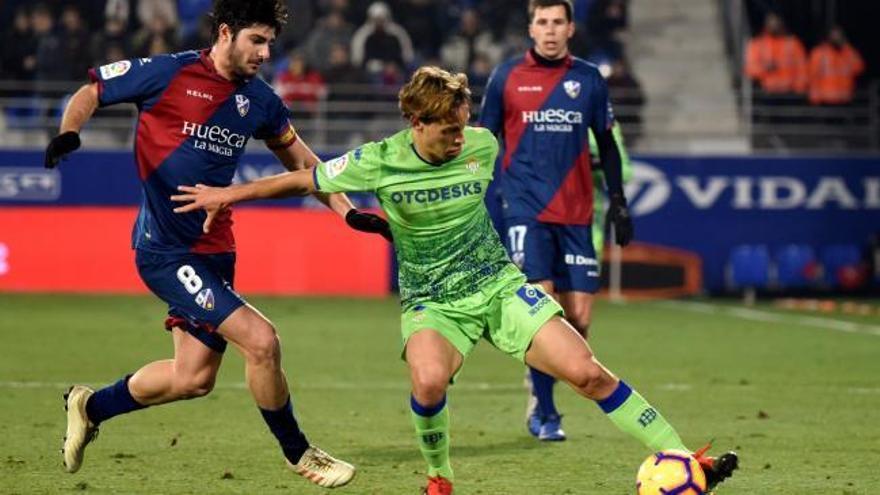 LaLiga Santander: Los goles del Huesca - Betis (2-1)