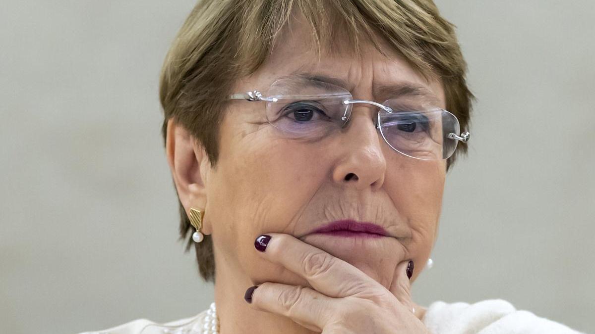 Michelle Bachelet, alta comisionada de la ONU para los Derechos Humanos.