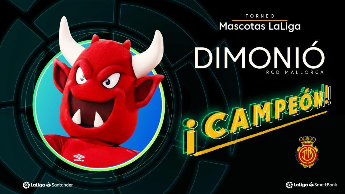 Dimonió da el triunfo al Mallorca en la Liga de mascotas