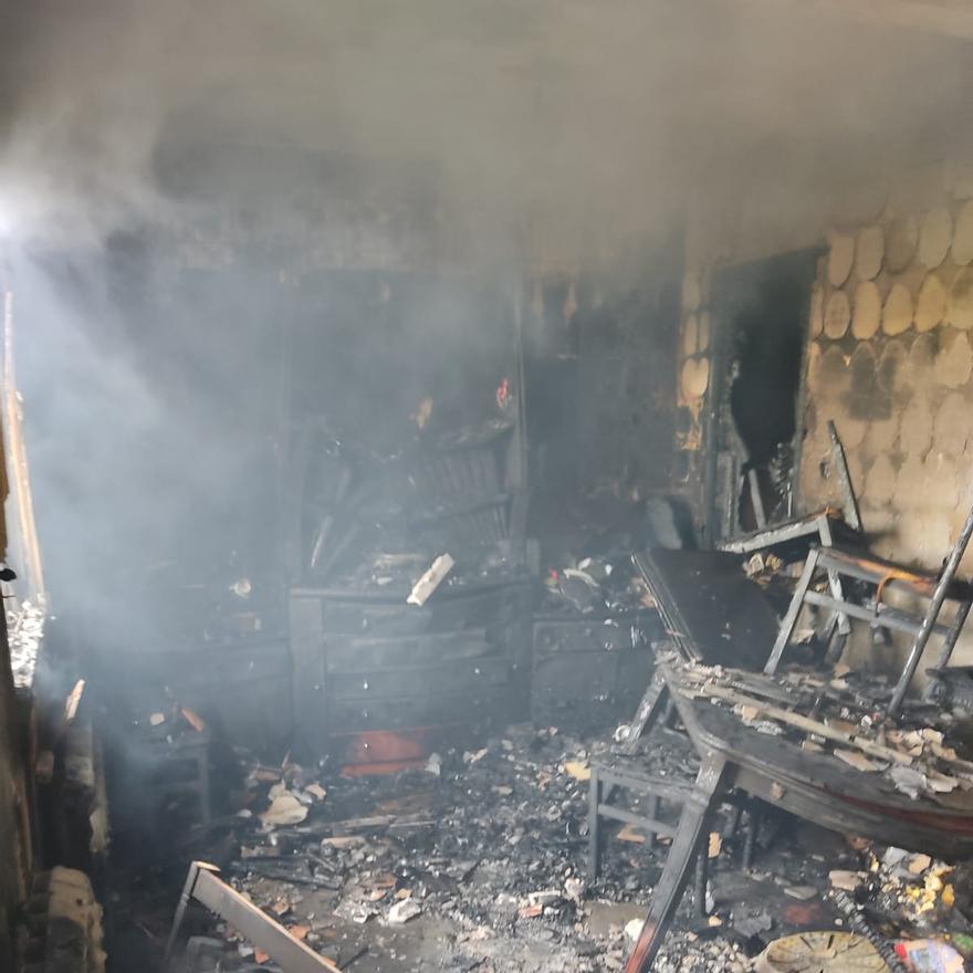 Trágico incendio en Toro