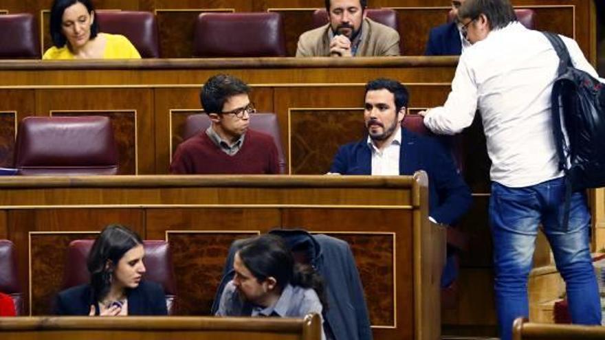 Pablo Iglesias arracona els partidaris d'Errejón situant-los al «galliner» del Congrés
