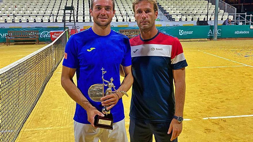 El alzireño Pedro Martínez ya está entre los 60 mejores tenistas del mundo