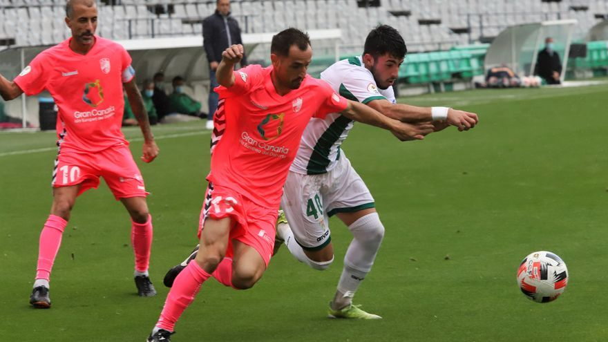 La mejora del Córdoba CF no le basta ante el Tamaraceite