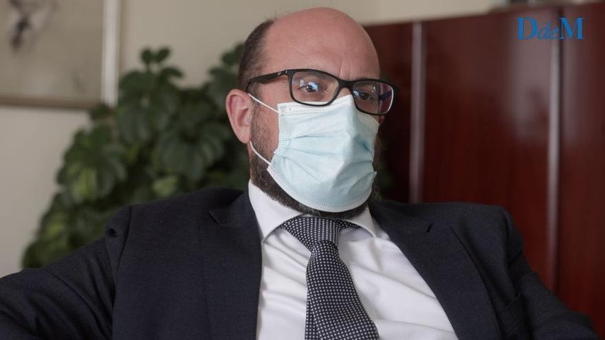 """Carlos Gil de las Heras: """"Esperamos que el Consejo de Estado resuelva el conflicto del Real Club Náutico de Palma"""""""