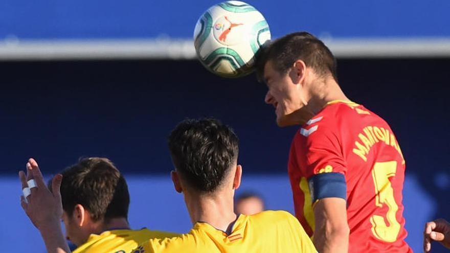 Mantovani, baja ante el Málaga por acumulación de tarjetas