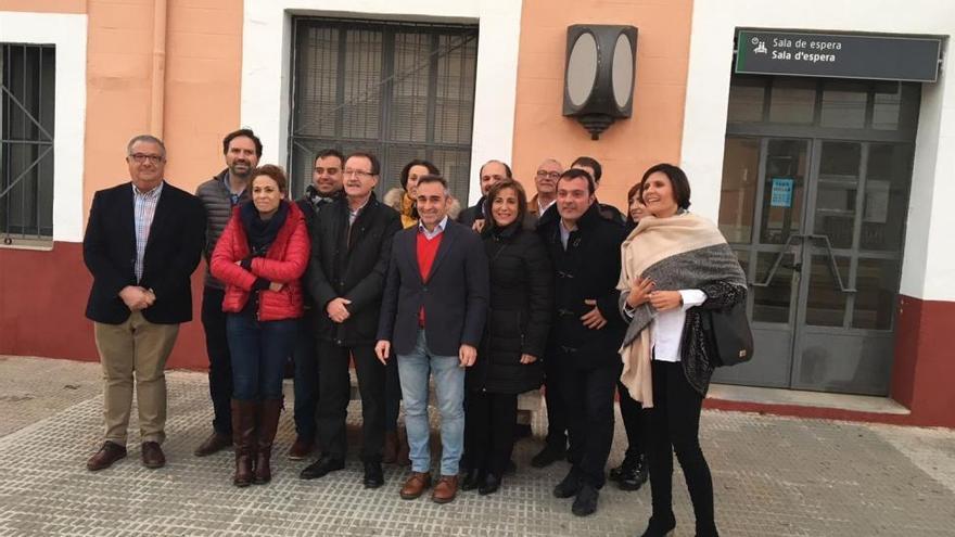 Barrachina afirma que Cercanías a Vinaròs multiplicará por cinco los pasajeros