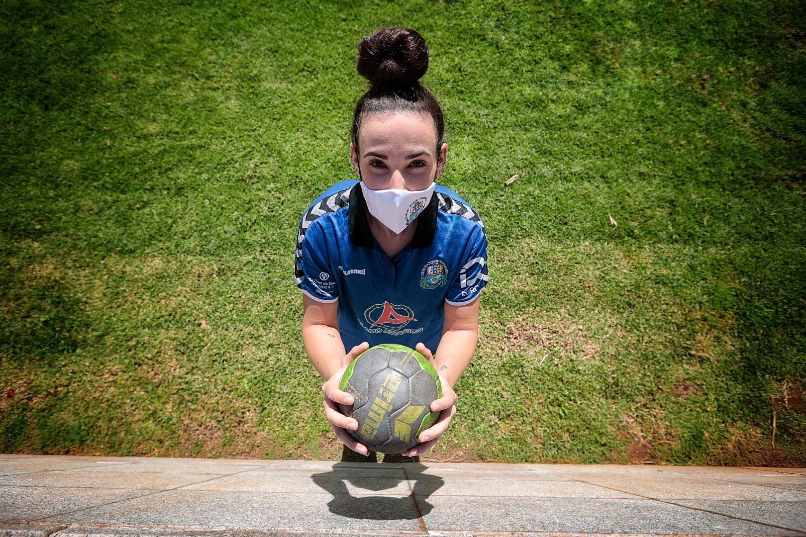 Rebeca López, goleadora del Balonmano Salud