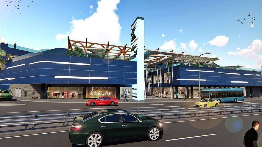 El centro comercial Playa del Inglés tendrá 8.000 metros más de tiendas