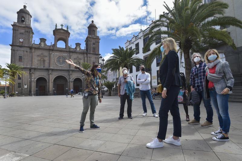 Los guías turísticos de Las Palmas de Gran Canaria