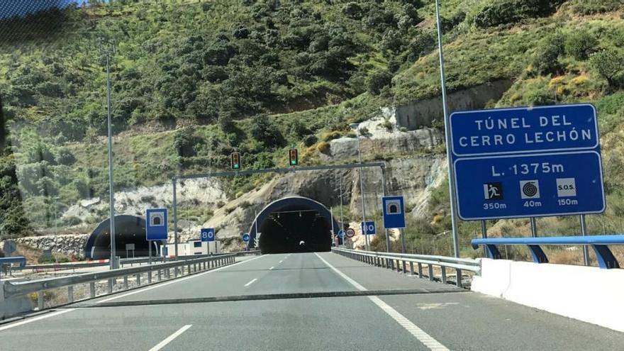 Aprobado el expediente del proyecto de mejora de enlaces en la AP-46 en Málaga