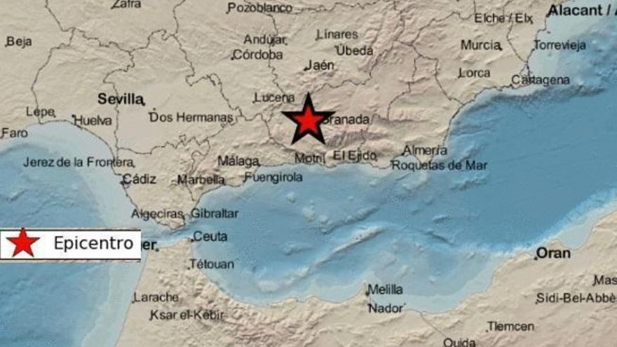 Un nuevo terremoto en Granada se siente en Córdoba