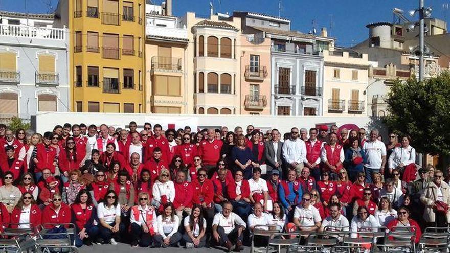 El voluntariado de Cruz Roja se reúne en Onda