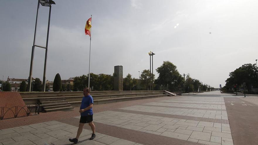 Córdoba, ciudad autoconfinada durante las horas de calor en el puente de agosto