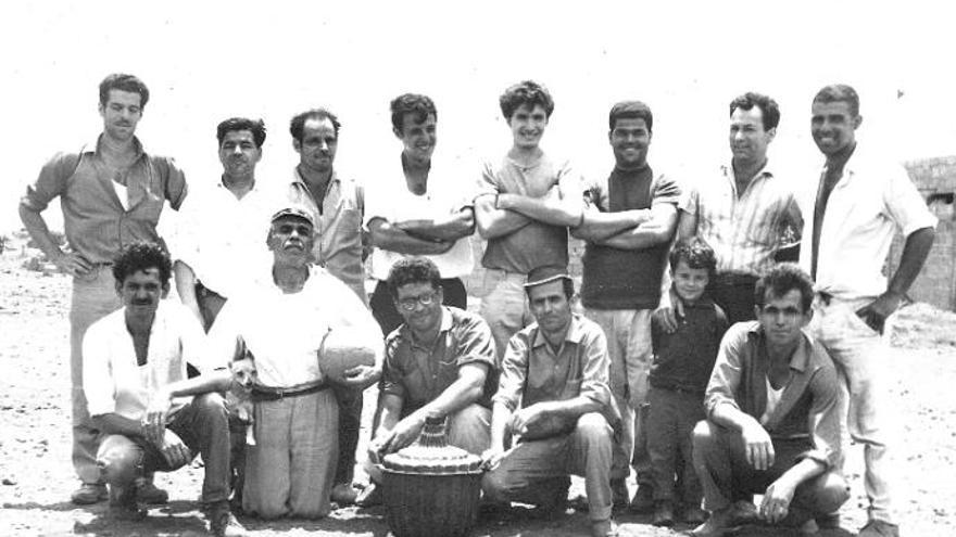 La asociación Los Verdeños de La Laguna cumple  60 años de lucha por La Verdellada