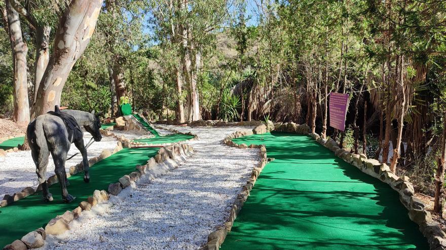 Cinco campos de minigolf que no te puedes perder en Málaga