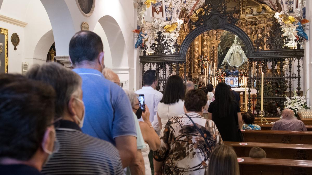 Jornada de puertas abiertas de la Virgen de Araceli.