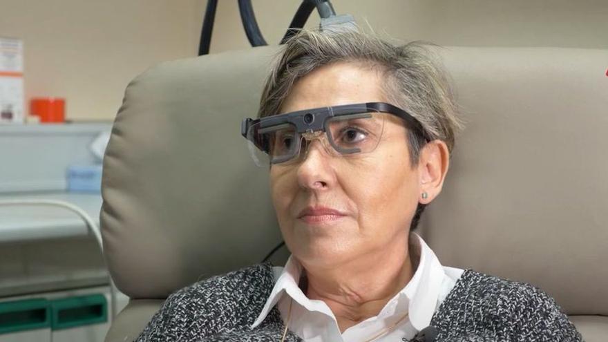 Investigadores valencianos estimulan la visión en una persona ciega para que perciba formas y letras