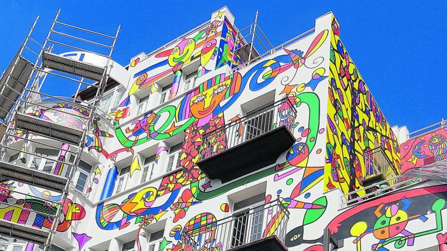 Altstadt-Kommission lehnt Fassaden-Gemälde am Hotel Armadams ab