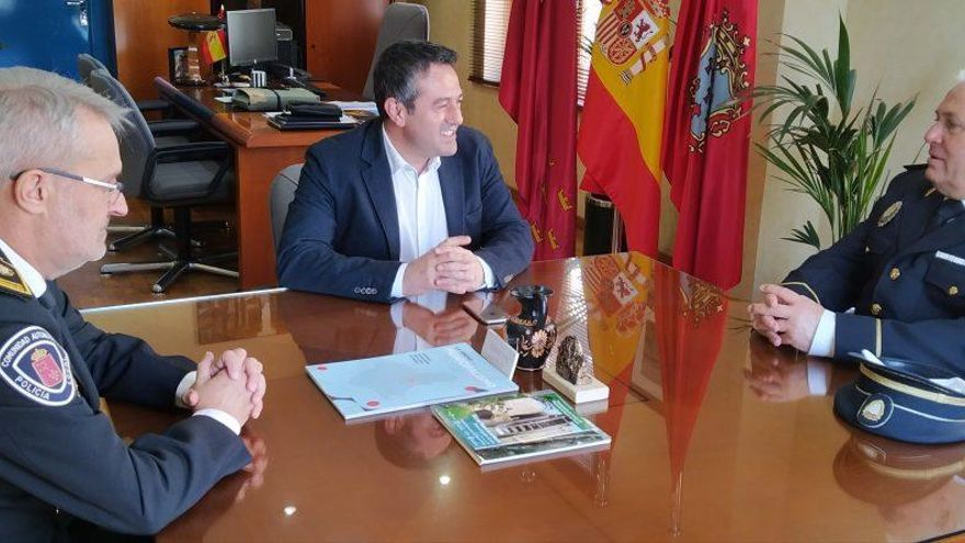 Archivan la causa por acoso contra el jefe de la Policía Local de Alcantarilla